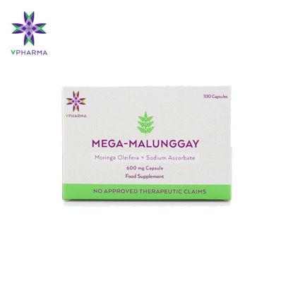 Picture of VPharma Mega-Malunggay 100 caps/Box