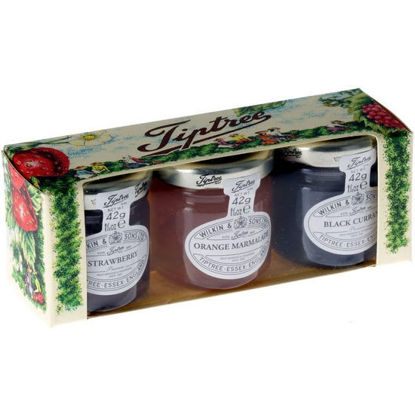 Picture of Tiptree Trio Jams and Marmalade 42g