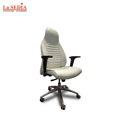 Picture of La Sedia High Back Office Chair - White