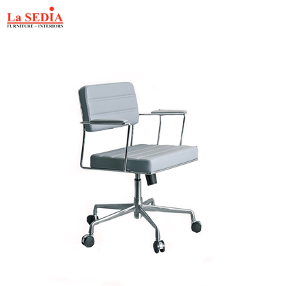 Picture of La Sedia Clerical Office Chair - Gray