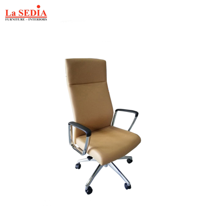 Picture of La Sedia High Back Office Chair - Tan