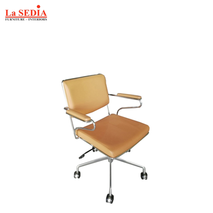 Picture of La Sedia Clerical Office Chair - Tan