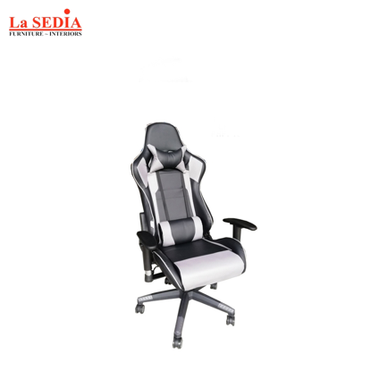 Picture of La Sedia Gaming Chair - Gray/Black