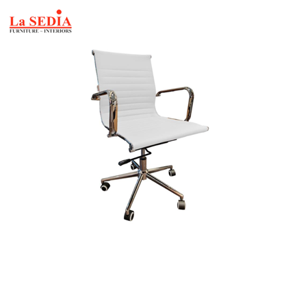 Picture of La Sedia Mid Back Office Chair - White