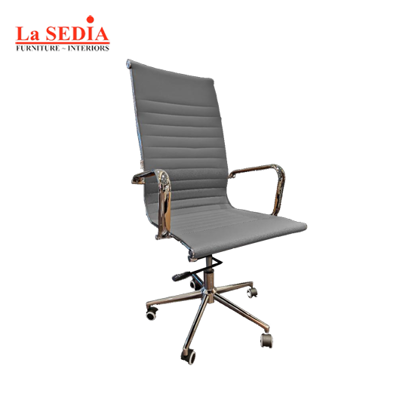 Picture of La Sedia High Back Office Chair - Gray