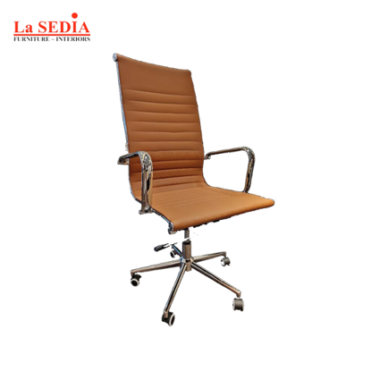 Picture of La Sedia High Back Office Chair - Brown