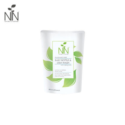 Picture of Nature to Nurture Baby Bottle and Dish Wash 800ml Refill
