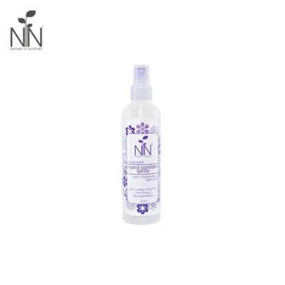 Picture of Nature to Nurture Hand Sanitizer Spray Lavender 250ml