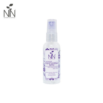 Picture of Nature to Nurture Hand Sanitizer Spray Lavender 50ml