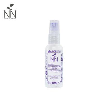 Picture of Nature to Nurture Hand Sanitizer Spray Lavender 50ml