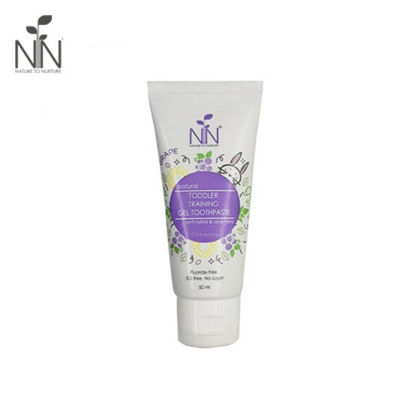 Picture of Nature to Nurture Toddler Training Gel Toothpaste 50ml Grape