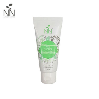 Picture of Nature to Nurture Kids Fluoride Gel Toothpaste 50ml Mild Mint