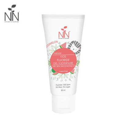 Picture of Nature to Nurture Kids Fluoride Gel Toothpaste 50ml Watermelon