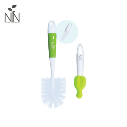 Picture of Nature to Nurture 2-in-1 Bottle and Nipple Cleaner, Green
