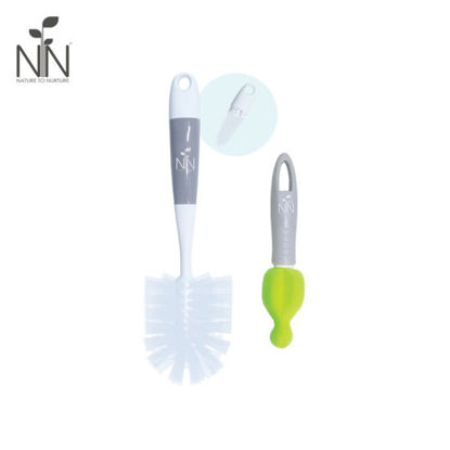 Picture of Nature to Nurture 2-in-1 Bottle and Nipple Cleaner, Gray