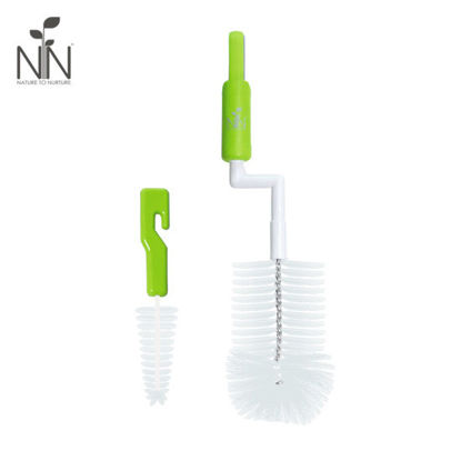 Picture of Nature to Nurture Rotary Bottle and Nipple Brush, Green
