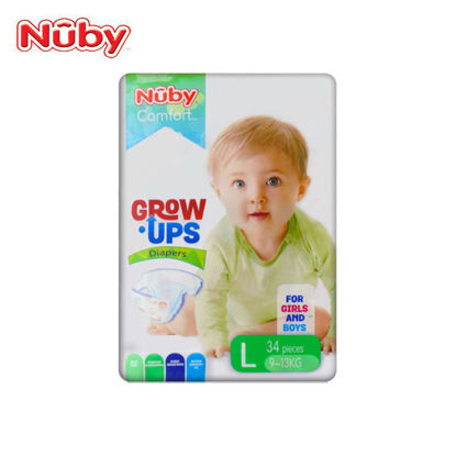 Picture of Nuby Comfort Grow Ups Diapers Large 34's