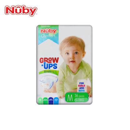Picture of Nuby Comfort Grow Ups Diapers Medium 36's