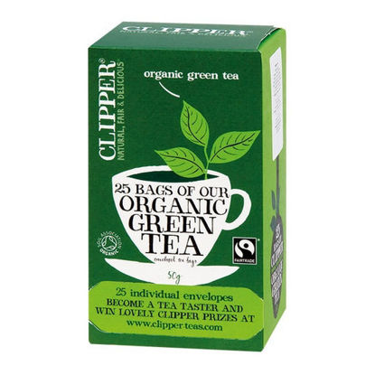Picture of CLIPPER Green Tea 25 Bags (50g)