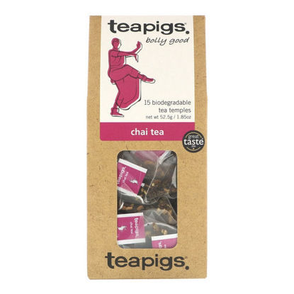 Picture of teapigs Chai Tea 15 Temples (52.5g)