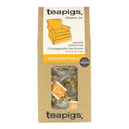 Picture of teapigs Chamomile Flowers 15 Temples (22.5g)