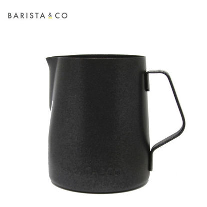 Picture of B & Co. 12oz Black Milk Jug