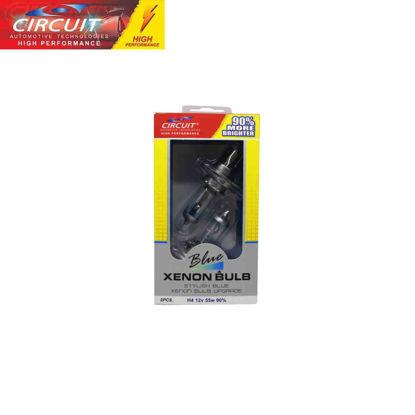Picture of Circuit Xenon Bulb 90% H4 60/55W 12V P43T 90% Brighter 2 Pcs/Set