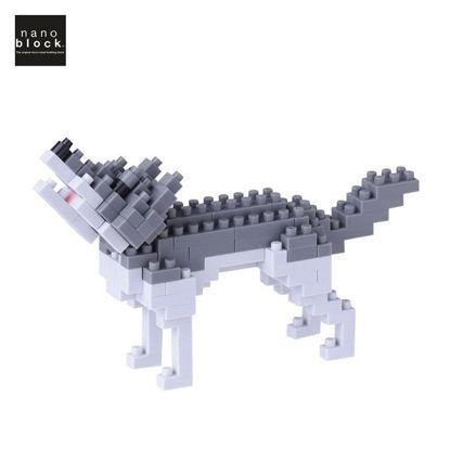 Picture of Nanoblock Gray Wolf