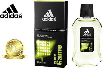 Picture of Adidas Pure Game Eau De Toilette for Men 100ml