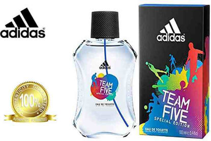 Picture of Adidas Team Five Eau De Toilette for Men 100ml