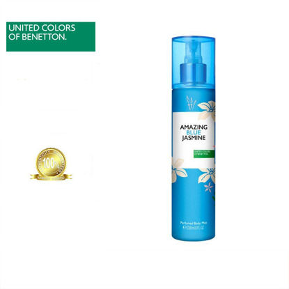 Picture of United Colors Of Benetton Amazing Blue Jasmine Perfumed Body Mist 236ml