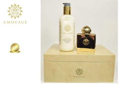 Picture of Amouage Gold Ladies Edp 100ml+300ml Body Lot Set