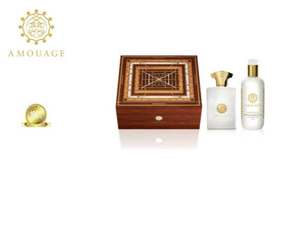 Picture of YOUR FAV BOX Amouage Honour Men Edp 100ml+300ml Sgel Marquetry Box Ph