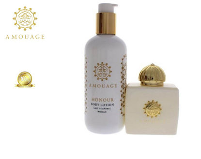 Picture of Amouage Honour Women Edp 100ml+300ml Bl Marquetry Box