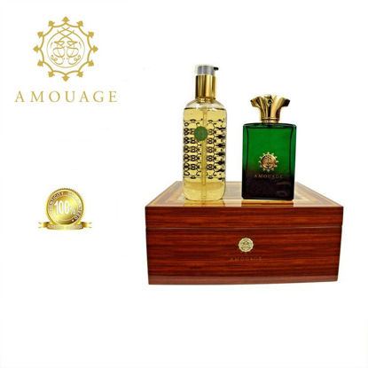 Picture of Amoauge Epic Men Edp 100ml+300ml Bl Marquetry Box Ph