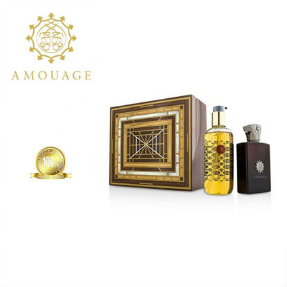 Picture of Amoauge Lyric Men Edp 100ml+300ml Bl Marquetry Box Ph