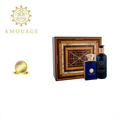 Picture of Amouage Interlude Men Edp 100ml+300ml Bl Marquetry Box Ph