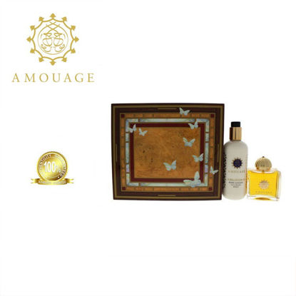 Picture of Amouage Jubilation Ladies Edp 100ml+300ml Bl Marquetry Box