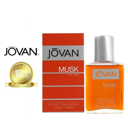Picture of Jovan Musk A/S Cologne 118ml