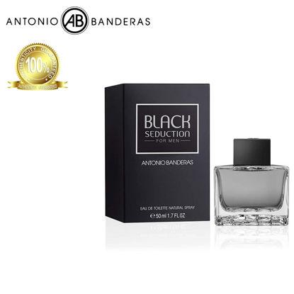Picture of Antonio Banderas Seduction in Black Men Eau de Toilette 50ml