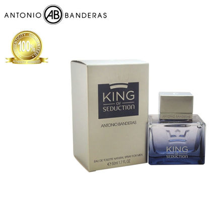 Picture of Antonio Banderas King of Seduction Eau de Toilette 50ml