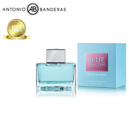 Picture of Antonio Banderas Blue Seduction Woman Eau de Toilette 80ml