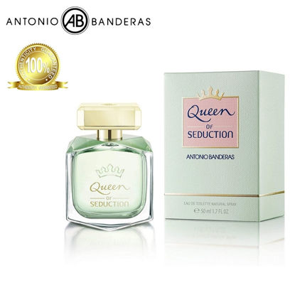 Picture of Antonio Banderas Queen of Seduction Eau de Toilette 50ml
