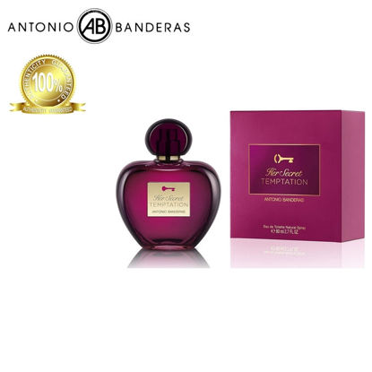 Picture of Antonio Banderas Her Secret Temptation Eau de Toilette 80ml