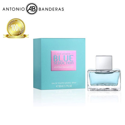 Picture of Antonio Banderas Blue Seduction of Woman Eau de Toilette 50ml