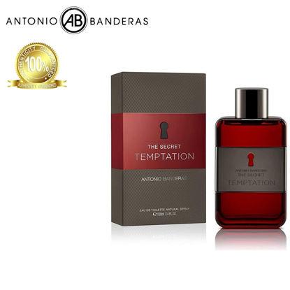 Picture of Antonio Banderas The Secret Temptation Eau de Toilette 100ml