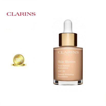 Picture of Clarins Skin Illusion Natural Hydrating Foundation 105 Nude 30ml