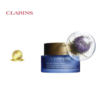 Picture of Clarins Multi Active Revitalizing Night Cream Normal To Combination Skin 50ml
