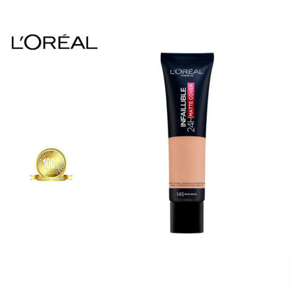 Picture of L'oreal Infallible 24H Fresh Wear Foundation SPF18 #145 RoseBeige