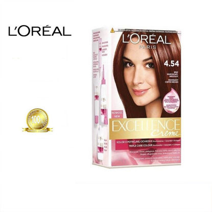 Picture of L'oreal Excellence Creme Colour 4.54 Dark Copper Mahogany